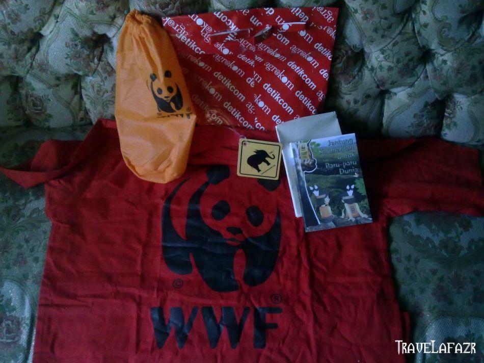 Hadiah Kontes Menulis BlogDetik-WWF
