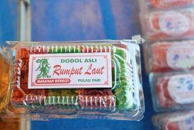 Dodol Rumput Laut. Photo by @andyputera