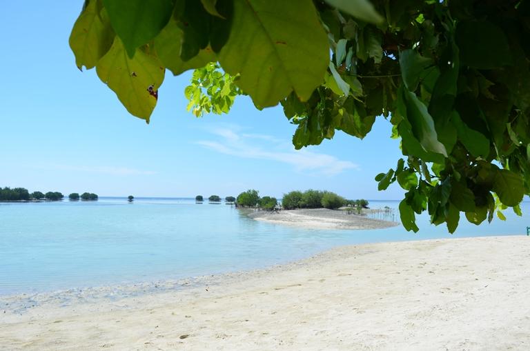 Pantai Pasir Perawan. Photo by @andyputera