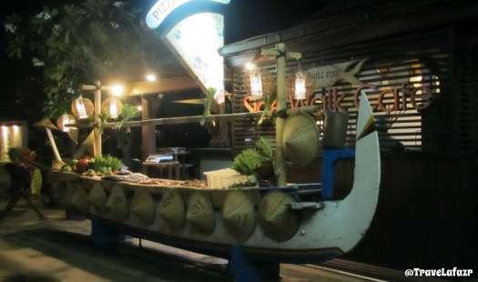 Salah satu cafe di Gili Trawangan