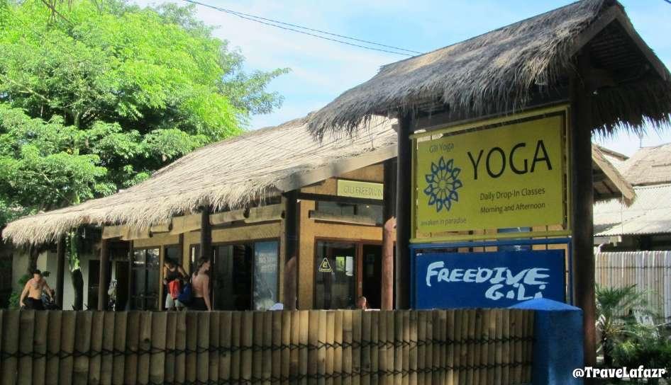 Kelas Yoga di Gili Trawangan
