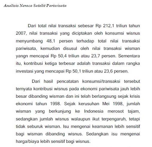 Nesparnas data tahun 2007
