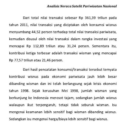 Nesparnas data tahun 2011