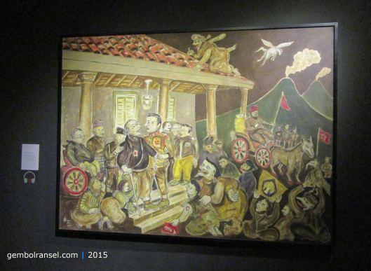 Salah Tangkap Pangeran Diponegoro - Heri Dono (2007)