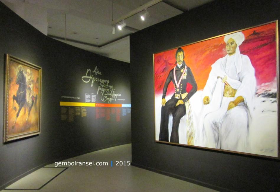 Pangeran Diponegoro dan Raden Saleh